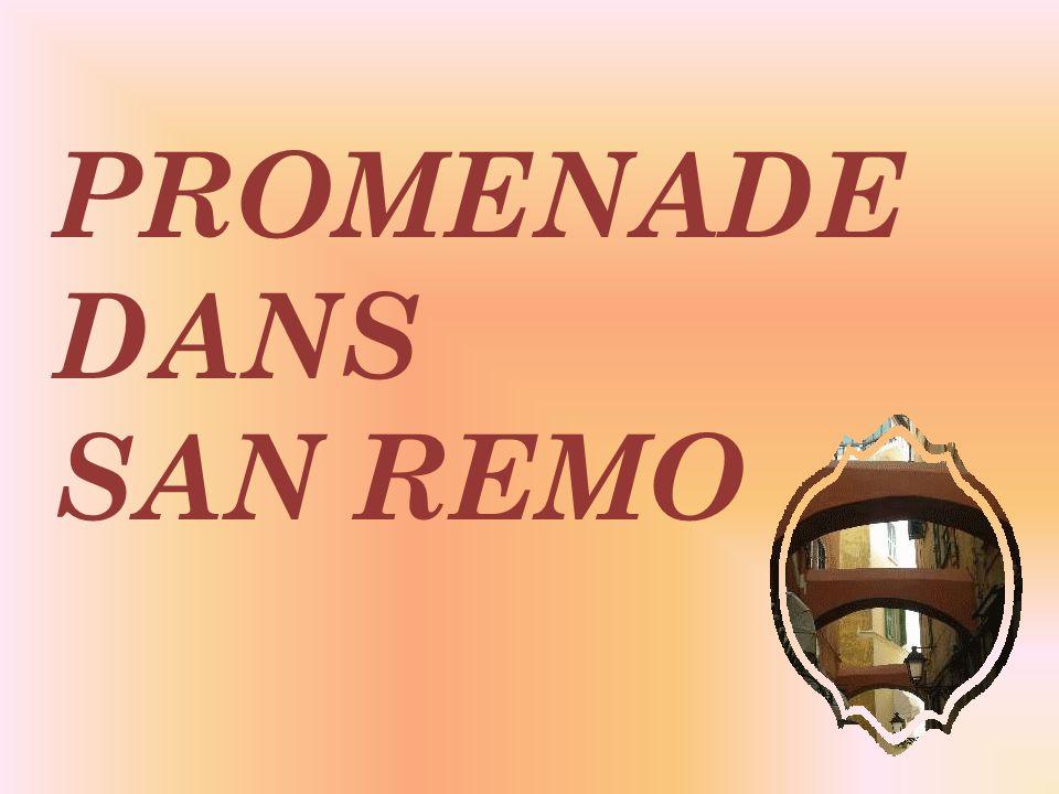 San Remo est lune des quatre villes italiennes qui possèdent un Casino.