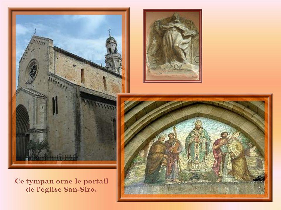 Léglise San Siro a été reconstruite au XIIIe siècle.