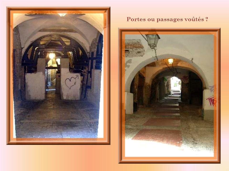 De vieilles fontaines; ci-haut, à gauche, celle-ci date de lépoque médiévale.