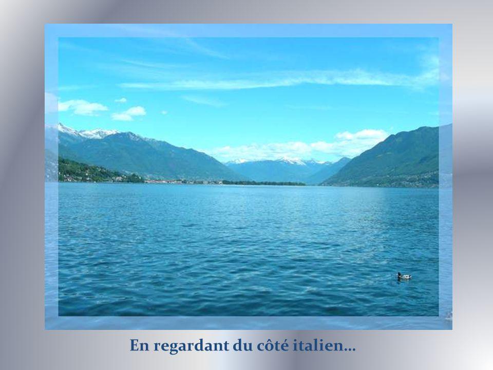 Mais bien sûr, le grand atout de Locarno, cest le lac Majeur.
