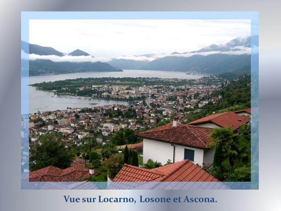 A lextrémité suisse du lac.