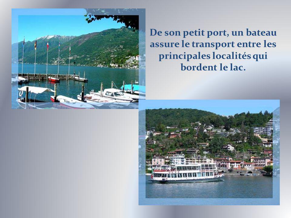 Petit village de pêcheurs, au début du XXe siècle, Ascona sest transformé en centre de tourisme mondain et culturel.