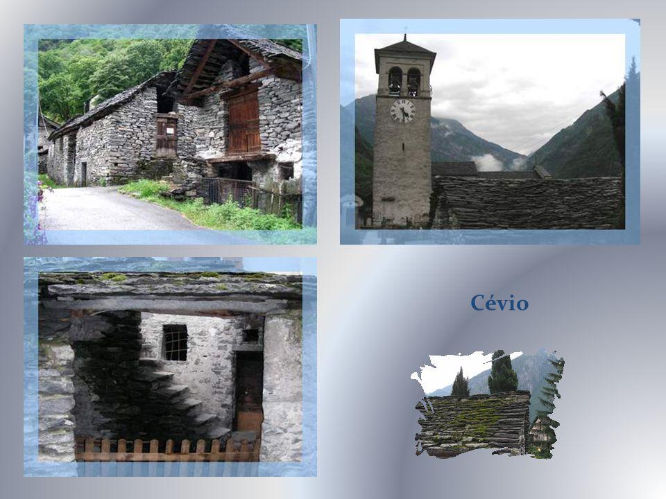 Vallée Maggia, Chutes Soladino, Bignasco.