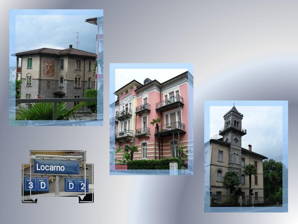 Puis, on arrive à Locarno, cité très agréable avec sa végétation luxuriante de type subtropicale.