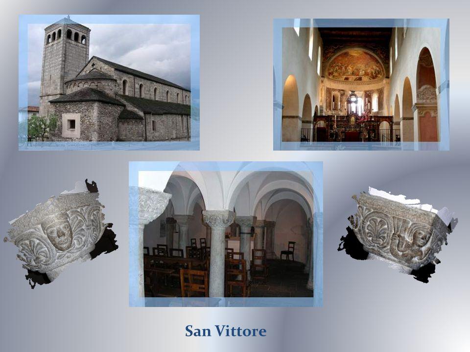 Ma préférence va à léglise San Vittore, construction romane qui possède une magnifique crypte.