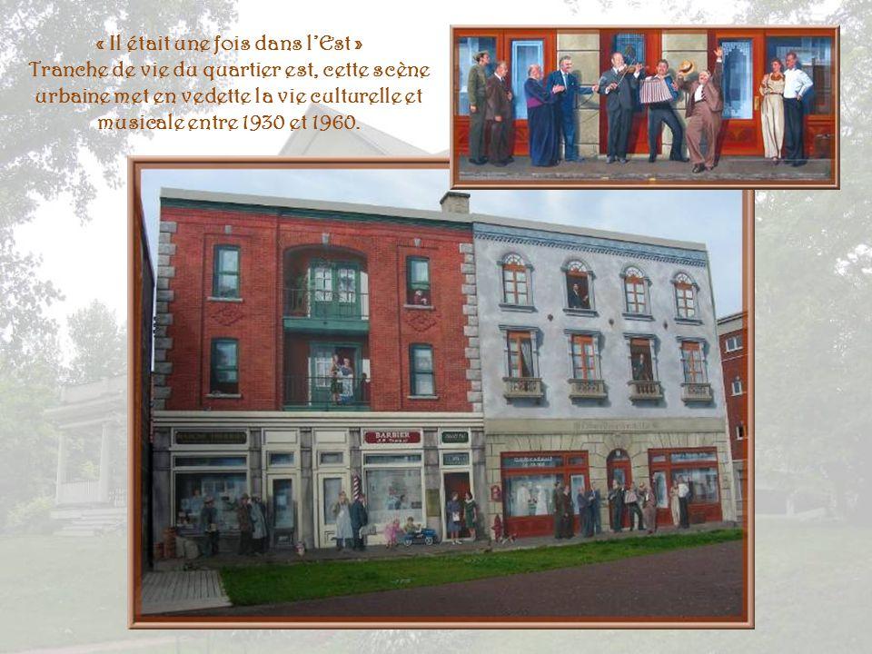 « LHôtel des Voyageurs » Non loin de la gare routière, cette fresque rappelle la vocation hôtelière du quartier, notamment lHôtel des Voyageurs, établ