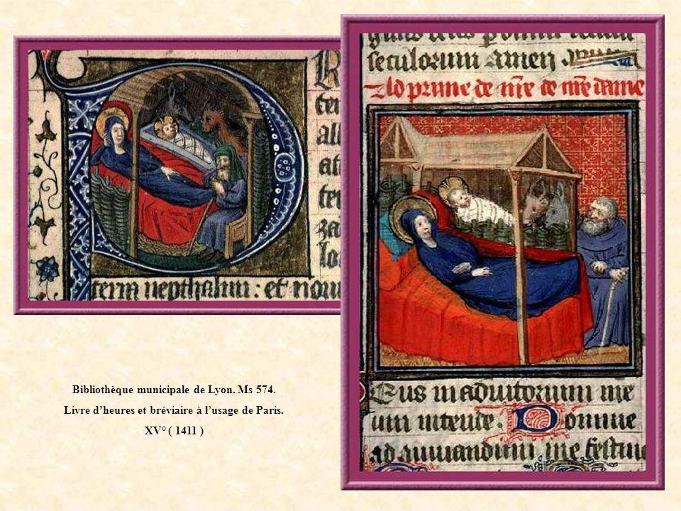 Bibliothèque municipale de Lyon.Ms 515. Missel du chanoine Claude Gaste à lusage de Lyon.