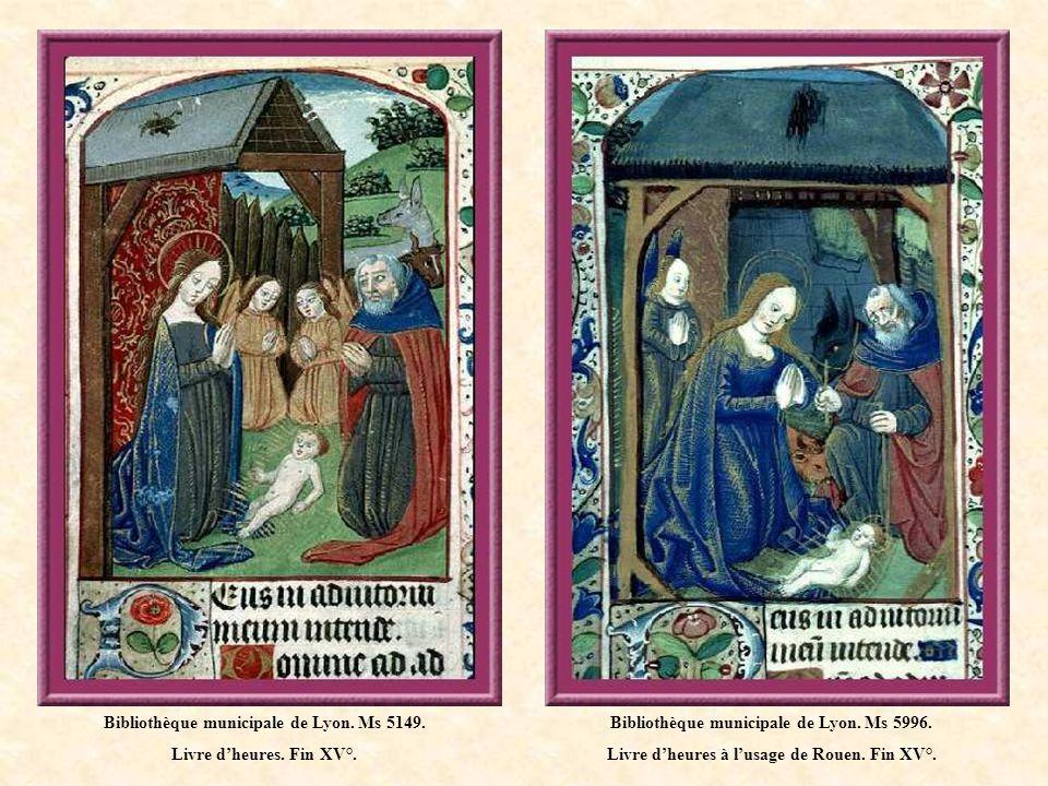 Bibliothèque municipale de Lyon.Ms 573. Livre dheures à lusage de Mâcon.