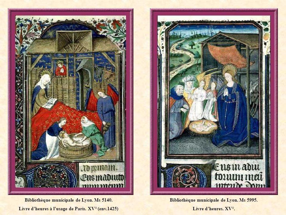 Bibliothèque municipale de Lyon.Ms 5149. Livre dheures.