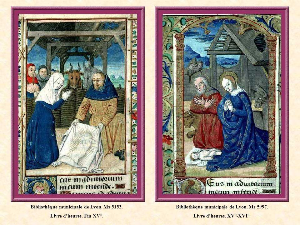 Bibliothèque municipale de Lyon.Ms 5140. Livre dheures à lusage de Paris.