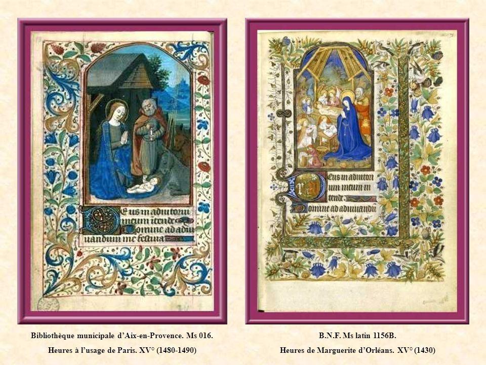 Bibliothèque municipale de Lyon.Ms 5153. Livre dheures.