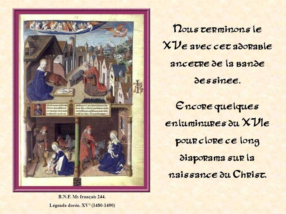 B.N.F.Ms français 279. Chronique dite de Baudouin dAvesnes.