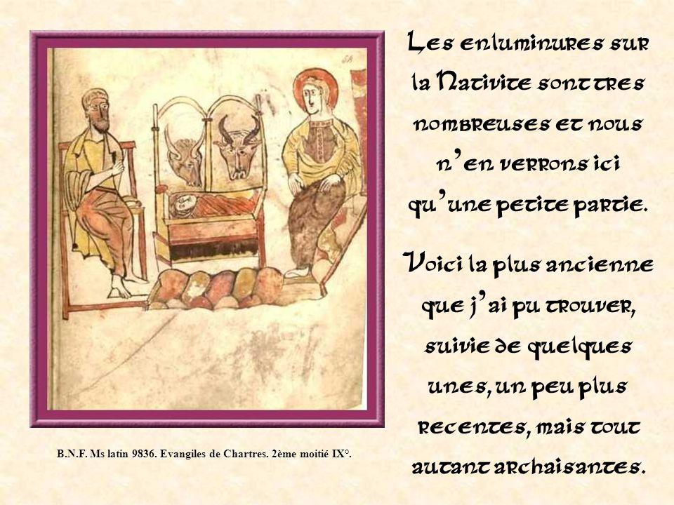 B.N.F.Ms latin 9836. Evangiles de Chartres. 2ème moitié IX°.