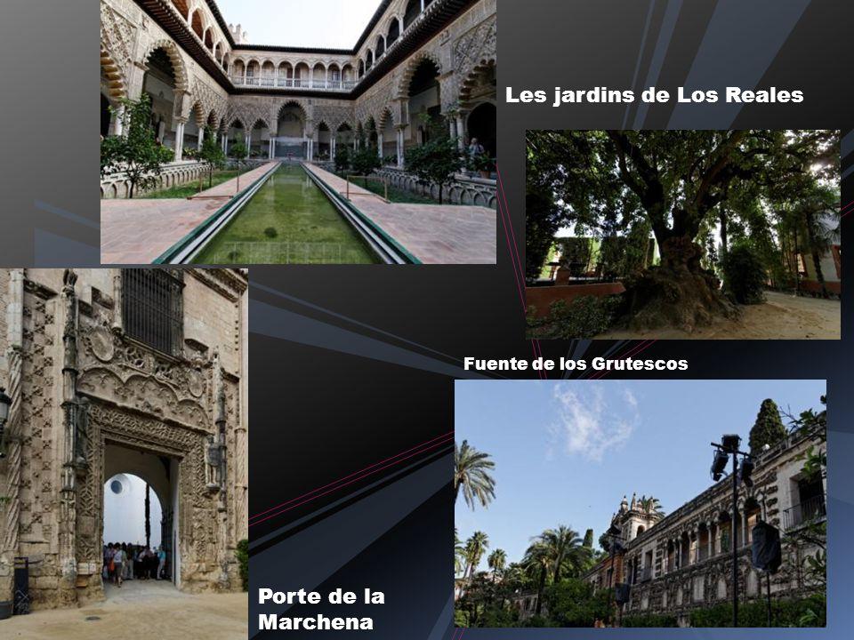 Les jardins de Los Reales Porte de la Marchena Fuente de los Grutescos
