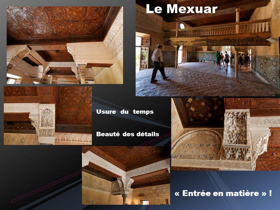 Au sud de l Espagne il y a GRENADE ….et Le palais de CHARLES QUINT Dans la citadelle les tours de l Homenaje, Quebrada Ardaguero Vers lentrée du palai
