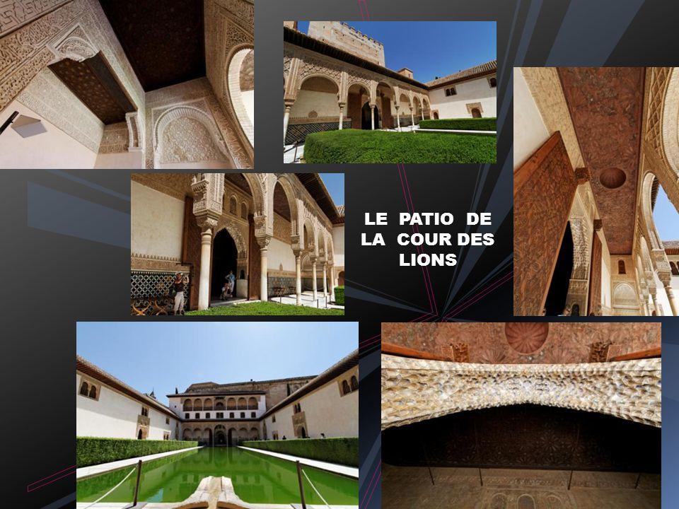 Le Mexuar : salle des prières Vue sur l Albaicin Le Cuarto Dorado