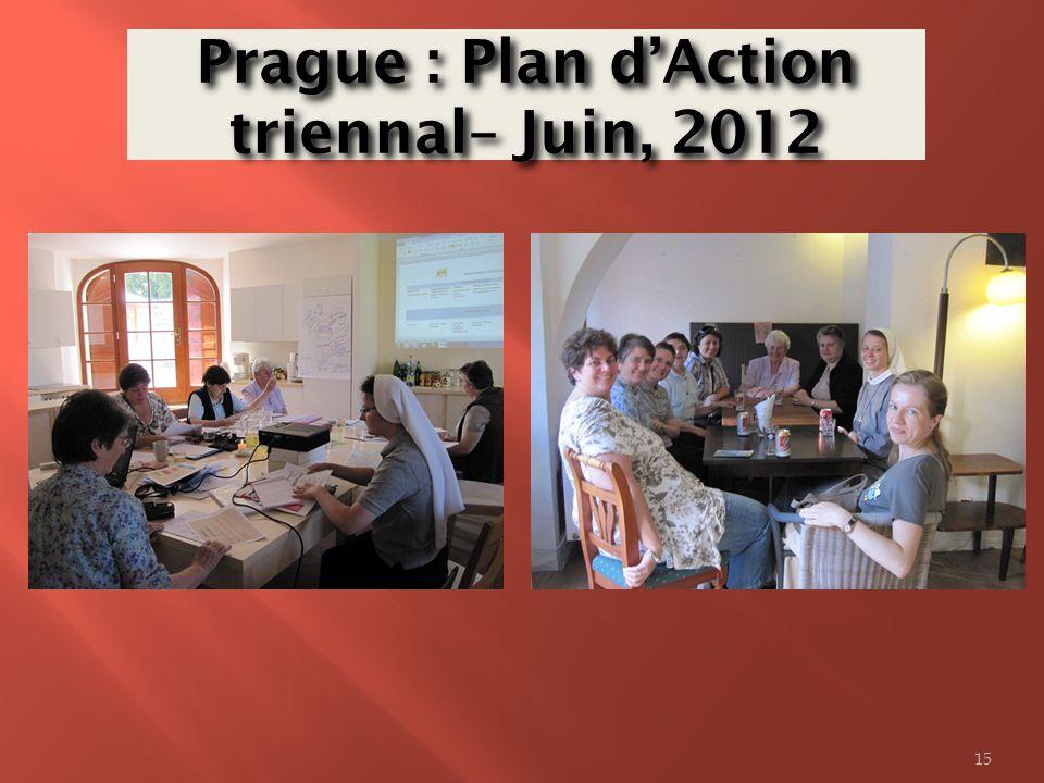 Prague : Plan dAction triennal– Juin, 2012 15