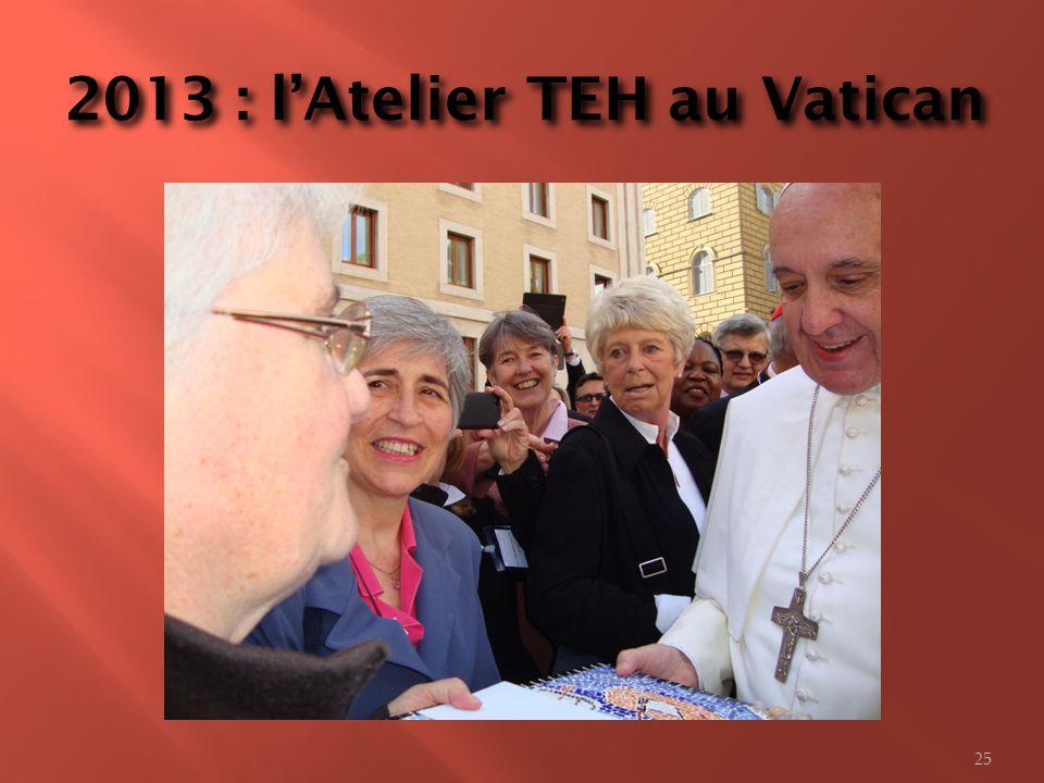2013 : lAtelier TEH au Vatican 25