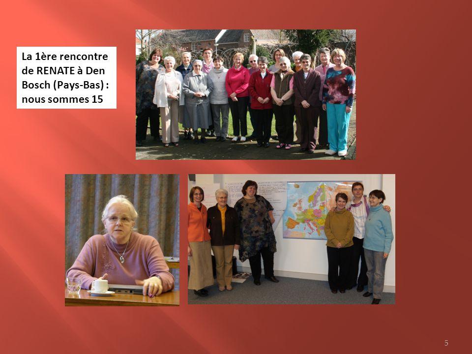 La 1ère rencontre de RENATE à Den Bosch (Pays-Bas) : nous sommes 15 5