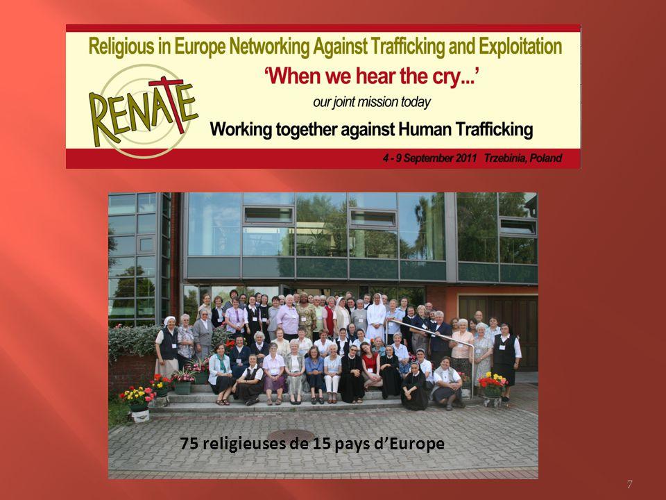 75 religieuses de 15 pays dEurope 7