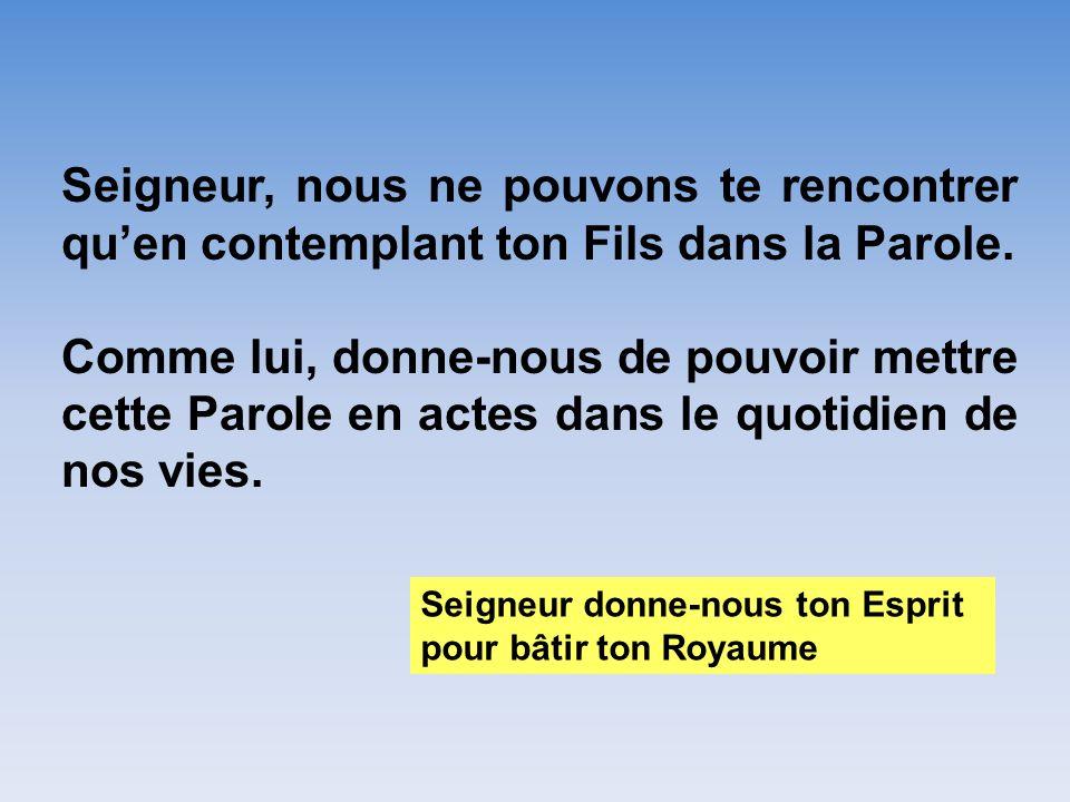 Conférence de Mgr Christophe Dufour ( Aix) Quelle première annonce de la Parole aujourdhui?