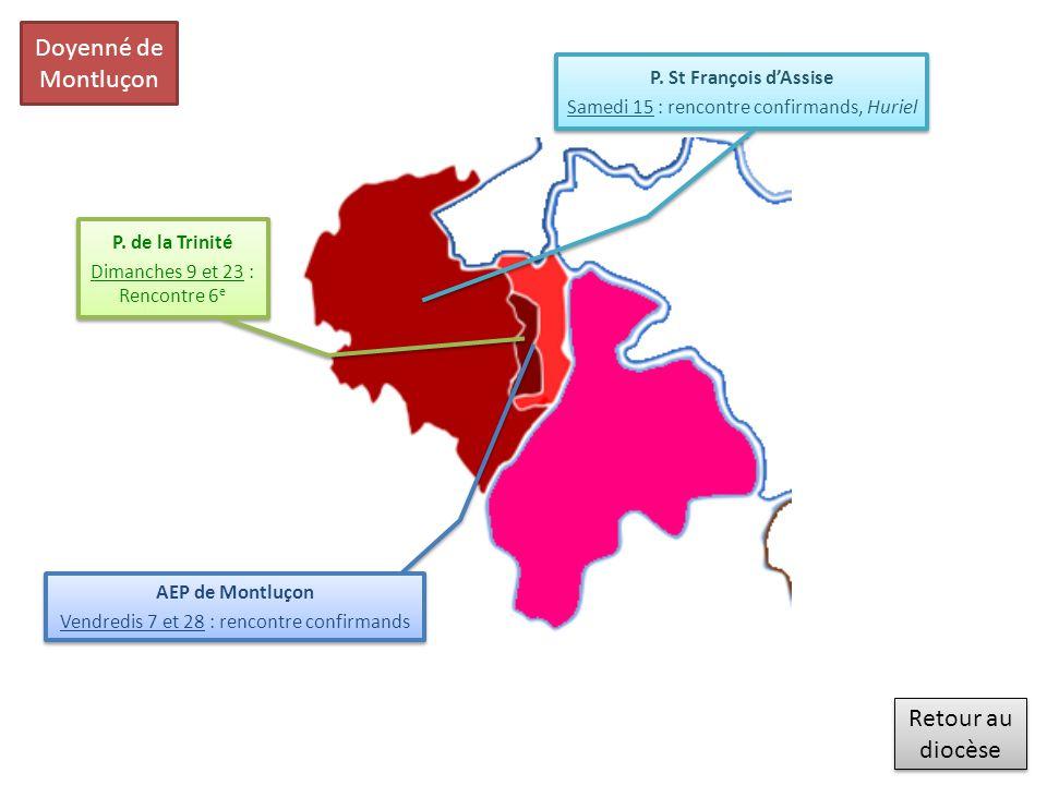 Retour au diocèse Retour au diocèse Doyenné de Moulins AEP de Moulins Samedi 1 er : journée 6 e (C.