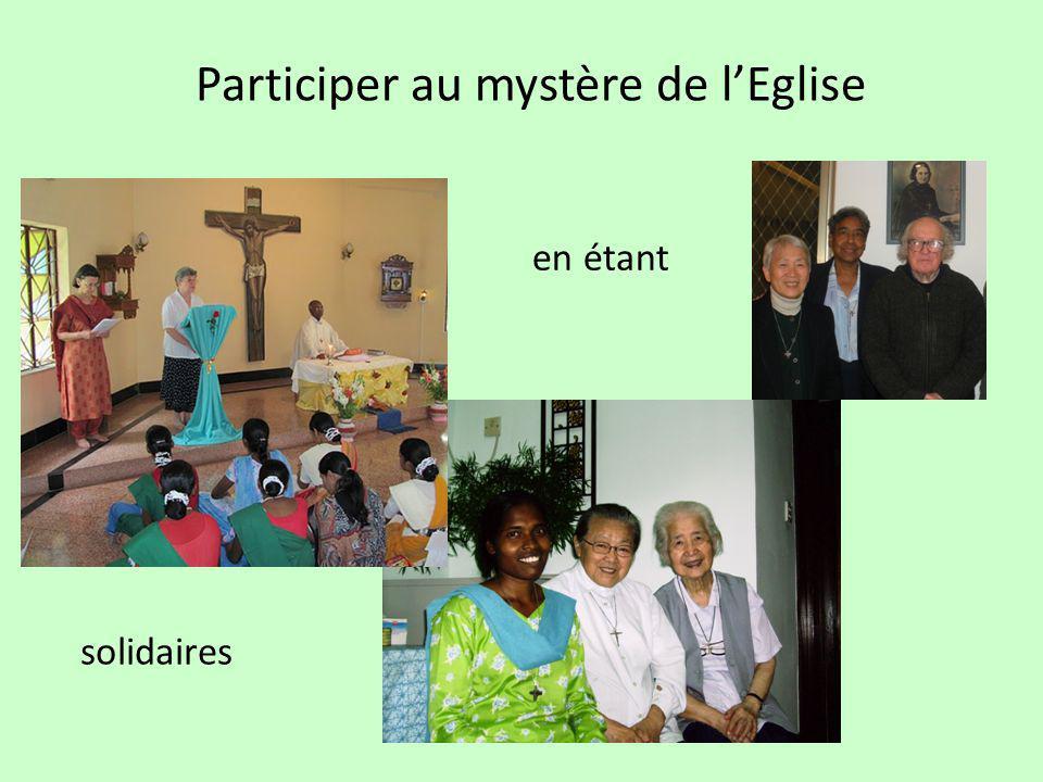 Participer au mystère de lEglise en étant solidaires