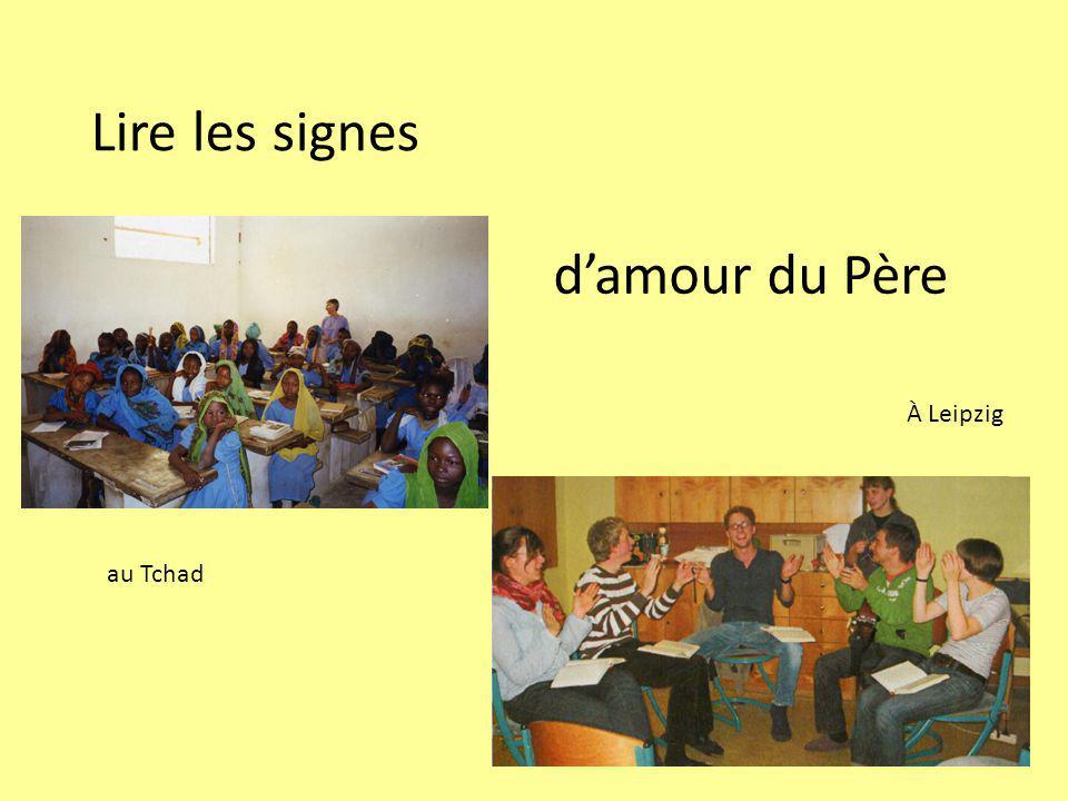 Lire les signes au Tchad damour du Père À Leipzig