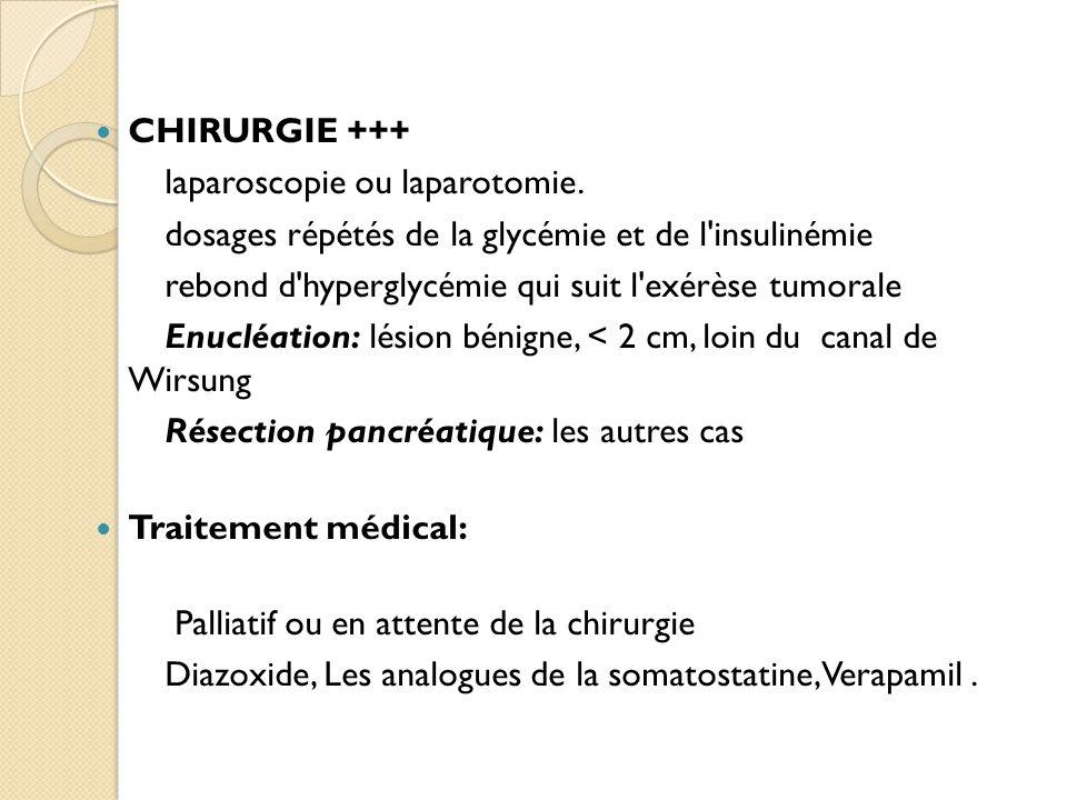 CHIRURGIE +++ laparoscopie ou laparotomie.