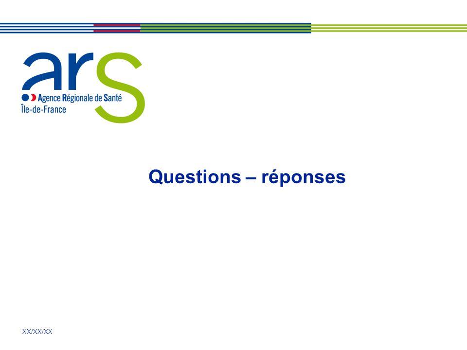 XX/XX/XX Questions – réponses