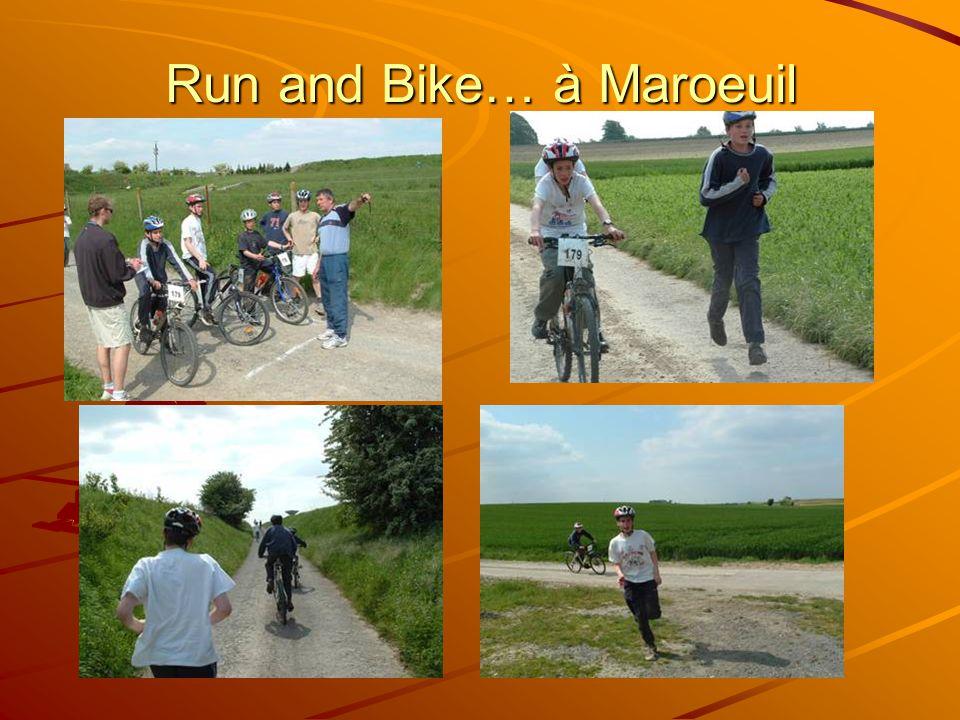 Run and Bike… à Maroeuil