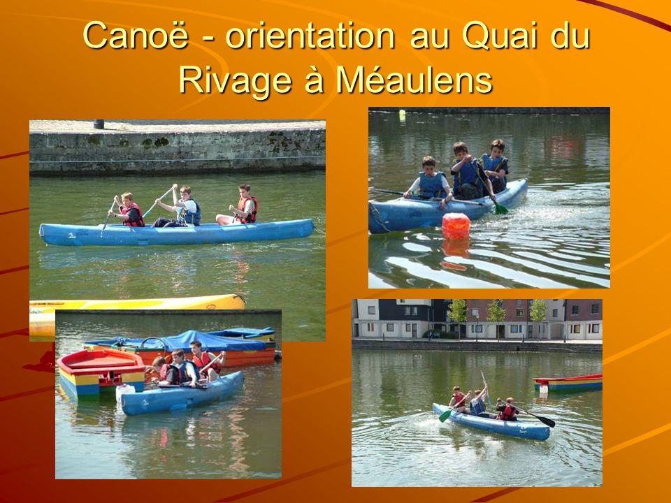 Canoë - orientation au Quai du Rivage à Méaulens