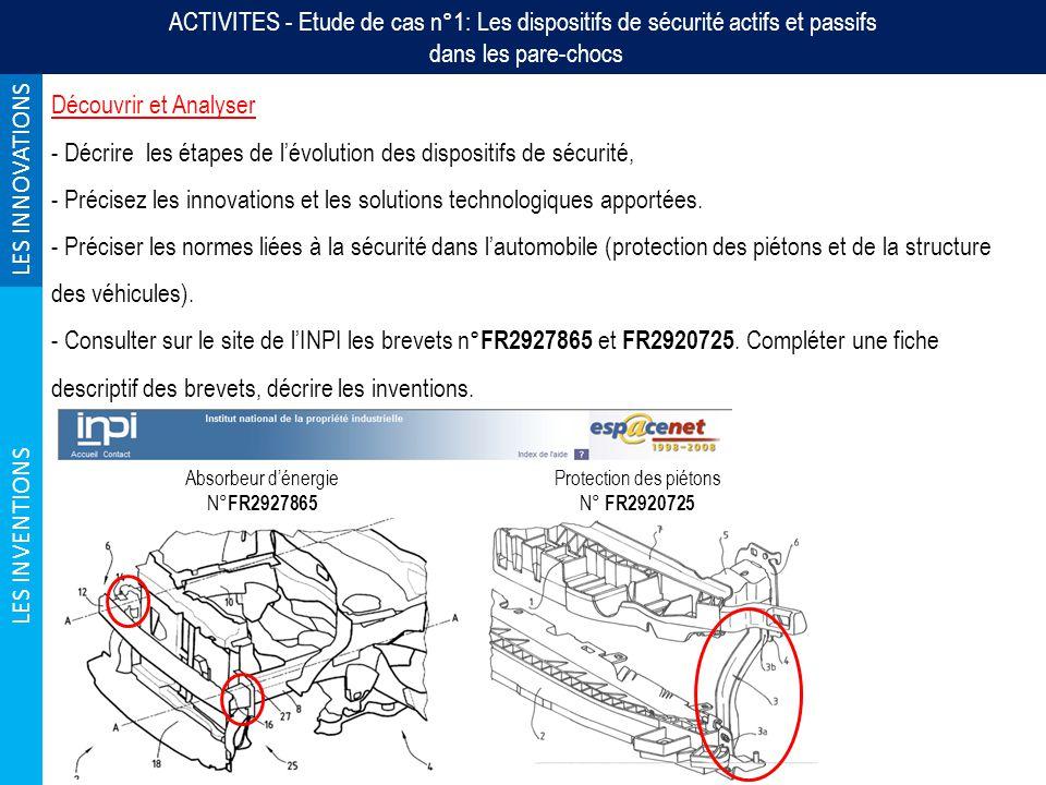 Étude de cas n°5: Lévolution des vélos urbains Grille de caractérisation de létude de cas Comment prévenir la proximité dun obstacle .