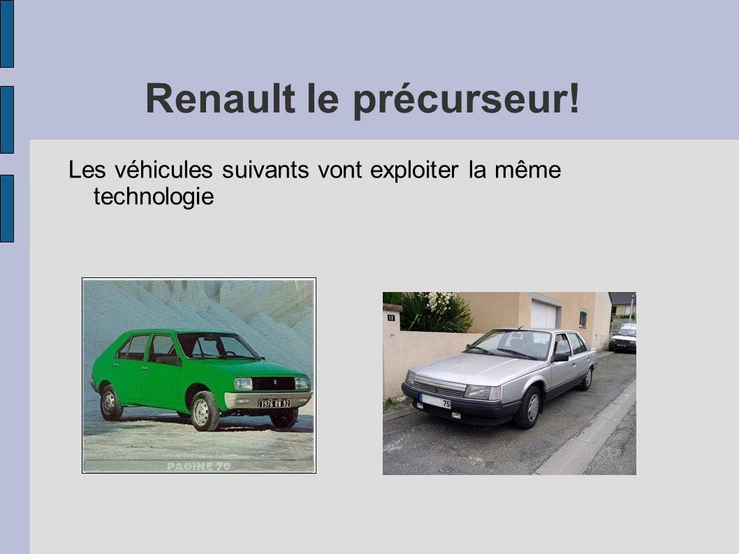 Renault le précurseur! Les véhicules suivants vont exploiter la même technologie