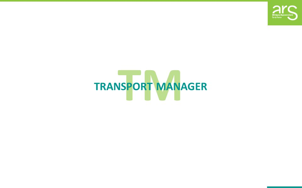 TM TRANSPORT MANAGER
