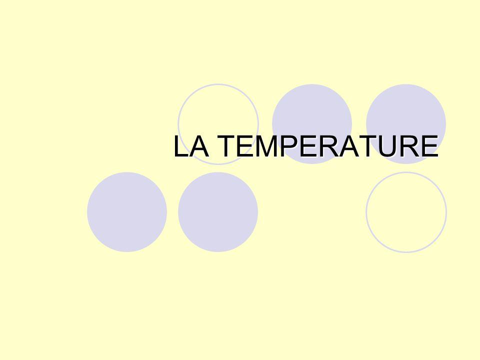 Laction de la température sur les microorganismes dépend : -- de lenvironnement, -- de létat physico-chimique -- du nombre -- de la nature des cellules.