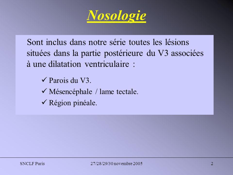 SNCLF Paris27/28/29/30 novembre 20053 Historique Conduites à tenir différentes : Dérivations ventriculaires.