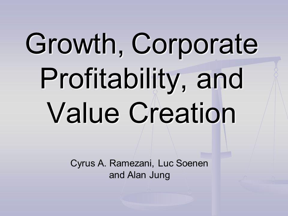OBJECTIFS DE LARTICLE Trop souvent, on associe la performance de lentreprise et la création de valeur au taux de croissance du chiffre daffaires et du résultat Trop souvent, on associe la performance de lentreprise et la création de valeur au taux de croissance du chiffre daffaires et du résultat Mesures traditionnelles : ROE, ROI … Mesures traditionnelles : ROE, ROI … Les revenus des dirigeants sont souvent indexés à la croissance de lentreprise (CA, résultat …) Les revenus des dirigeants sont souvent indexés à la croissance de lentreprise (CA, résultat …) Une nouvelle approche consiste à accorder davantage dimportance à des mesures de type EVA, MVA, rendement sur le capital investi … Une nouvelle approche consiste à accorder davantage dimportance à des mesures de type EVA, MVA, rendement sur le capital investi … Ces mesures semblent faire le lien entre lintérêt des actionnaires et les décisions des managers Ces mesures semblent faire le lien entre lintérêt des actionnaires et les décisions des managers