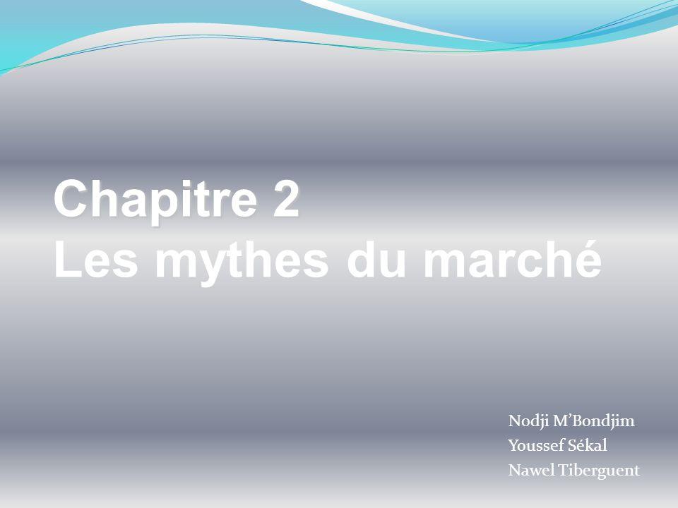 Nodji MBondjim Youssef Sékal Nawel Tiberguent Chapitre 2 Les mythes du marché