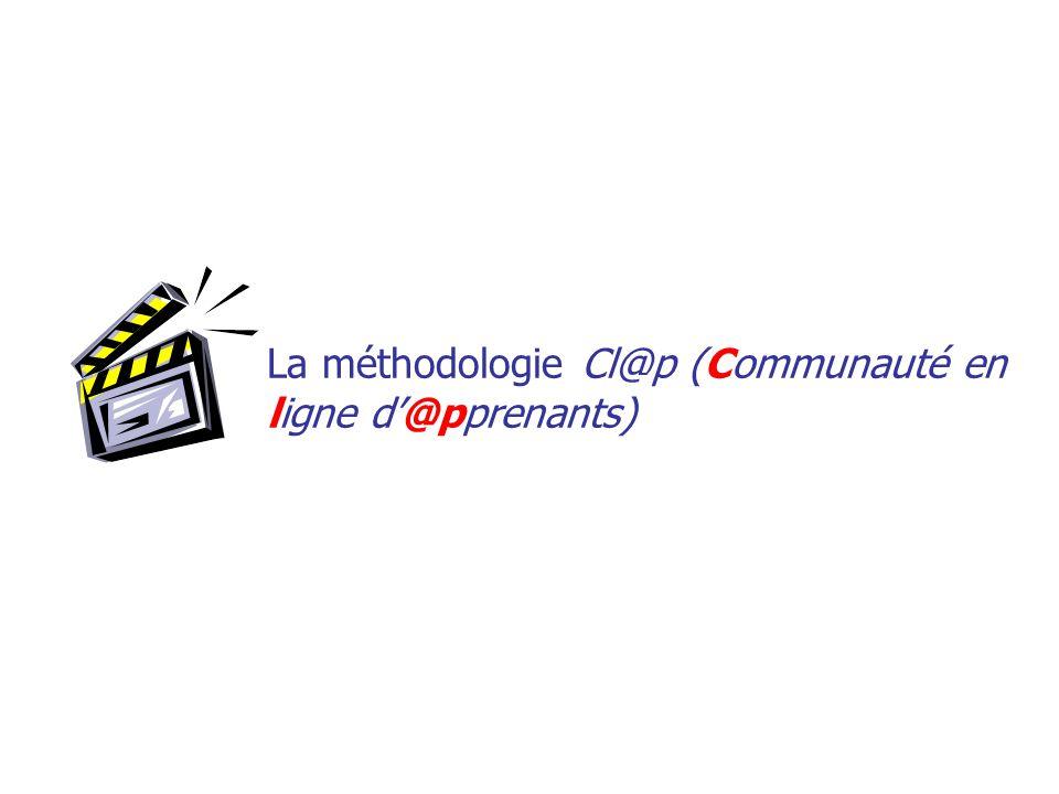 La méthodologie Cl@p (Communauté en ligne d@pprenants)