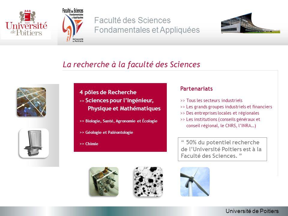La recherche à la faculté des Sciences Partenariats >> Tous les secteurs industriels >> Les grands groupes industriels et financiers >> Des entreprise