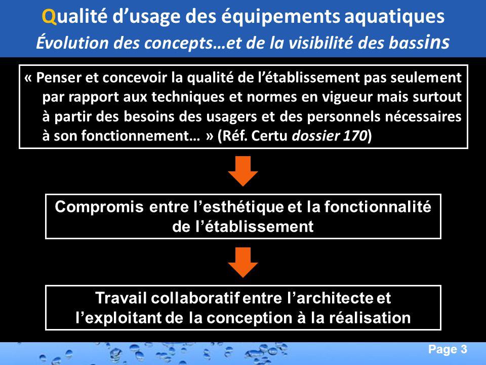 Page 34 Second Page : Évaluation de la Visibilité Aquatique Visibilité en profondeur (Chaise haute) Image de synthèse simulation jour Reflets de baies vitrées