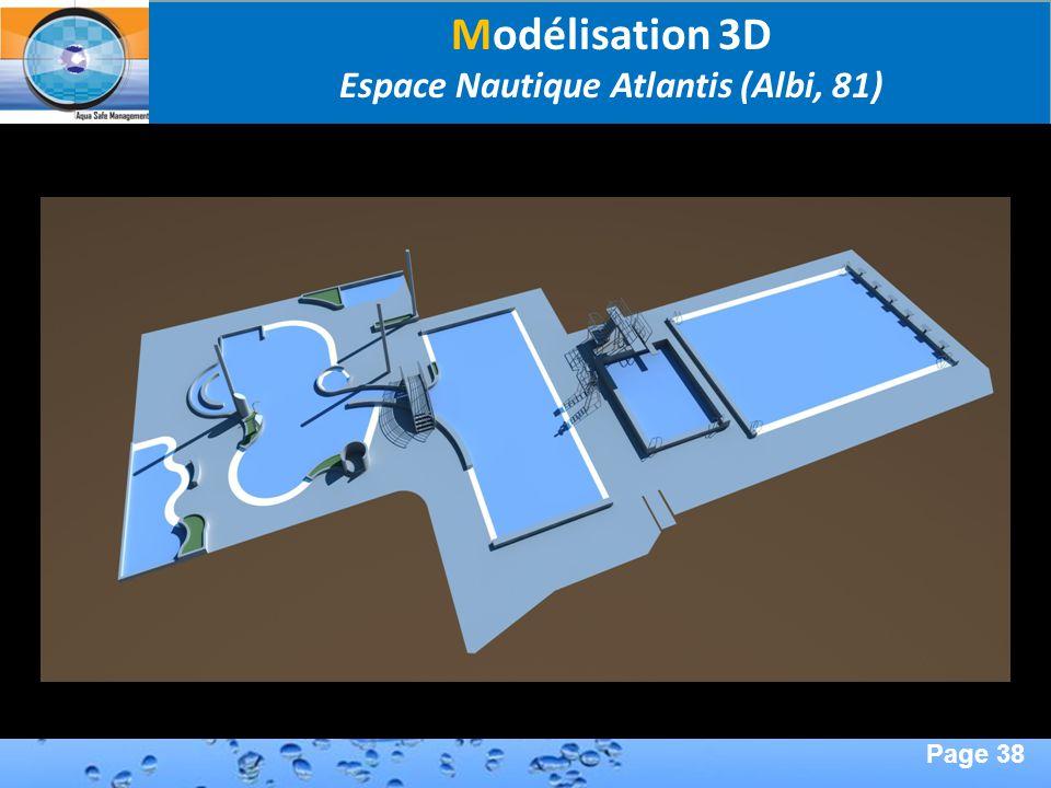 Page 38 Second Page : Modélisation 3D Espace Nautique Atlantis (Albi, 81)