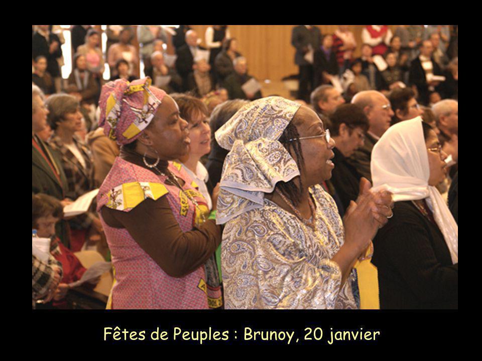 Fêtes de Peuples : Brunoy, 20 janvier