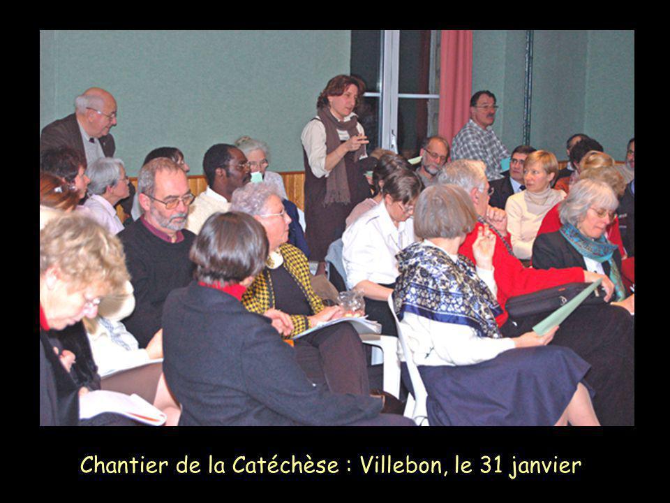 Appel décisif des catéchumènes : Basilique de Longpont, le 10 février
