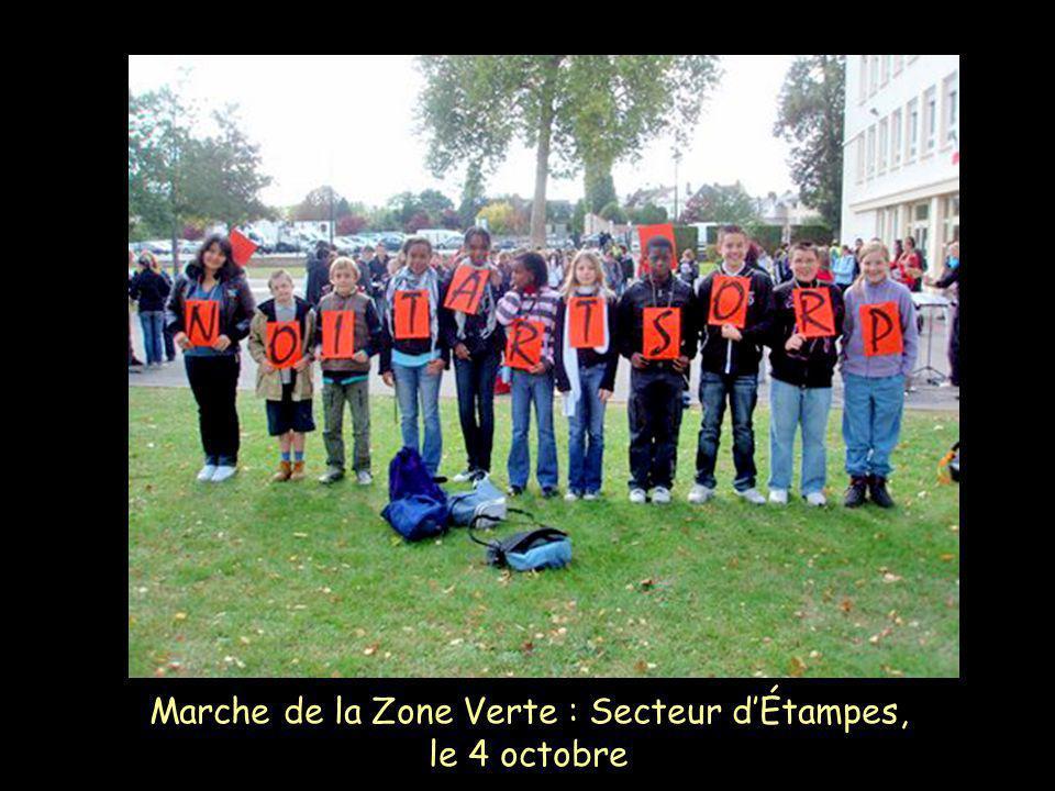 Marche de la Zone Verte : Secteur dÉtampes, le 4 octobre
