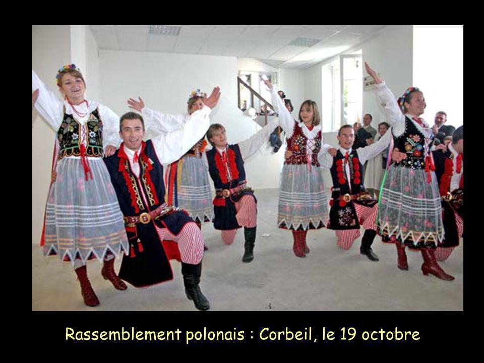 Rassemblement polonais : Corbeil, le 19 octobre