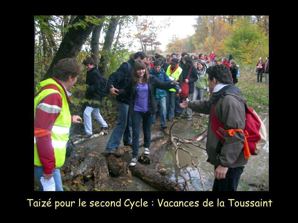 Taizé pour le second Cycle : Vacances de la Toussaint