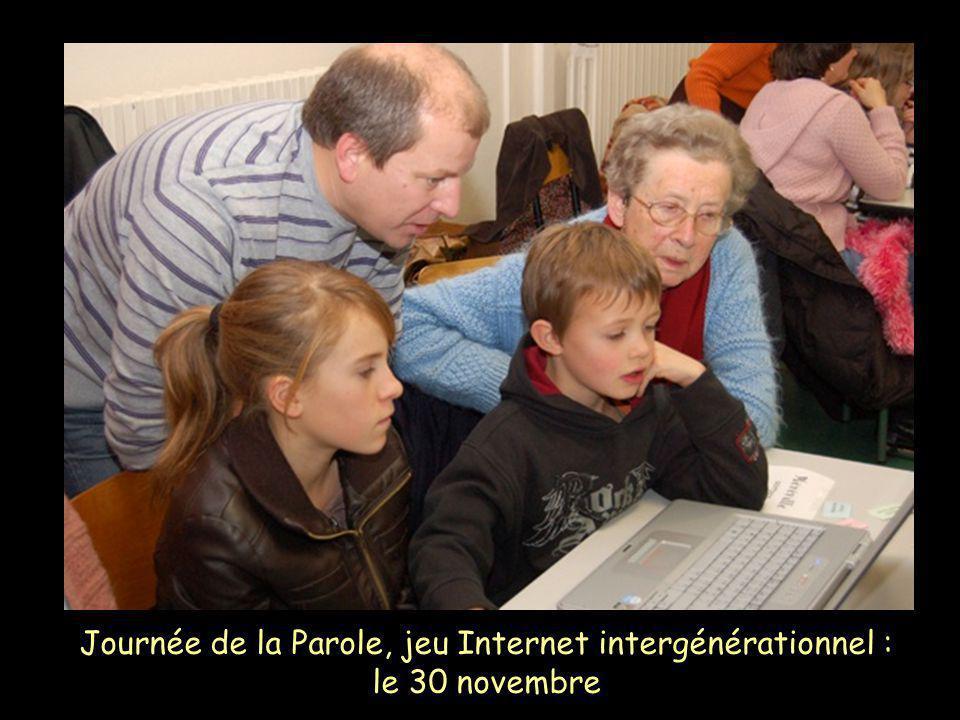 Journée de la Parole, jeu Internet intergénérationnel : le 30 novembre