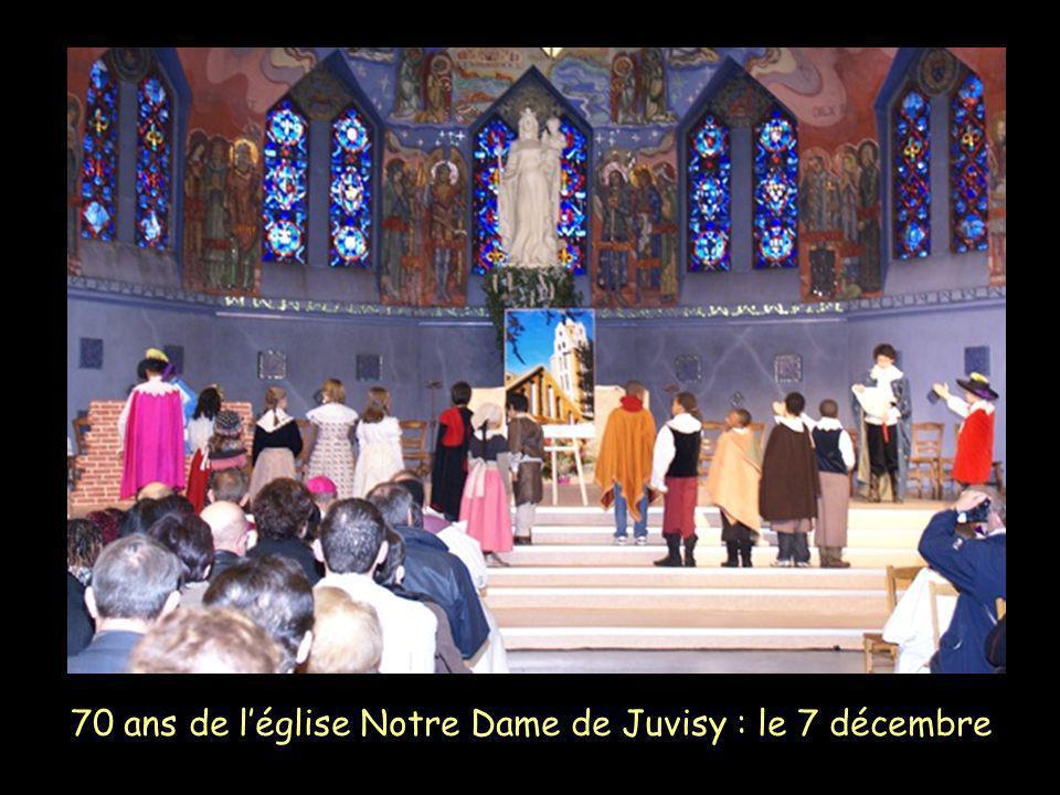 70 ans de léglise Notre Dame de Juvisy : le 7 décembre